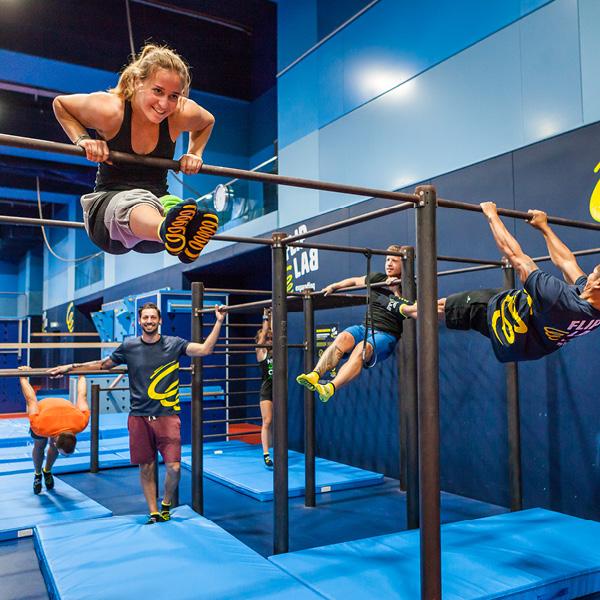 FLIP LAB Vienna - Parcour und Fitness