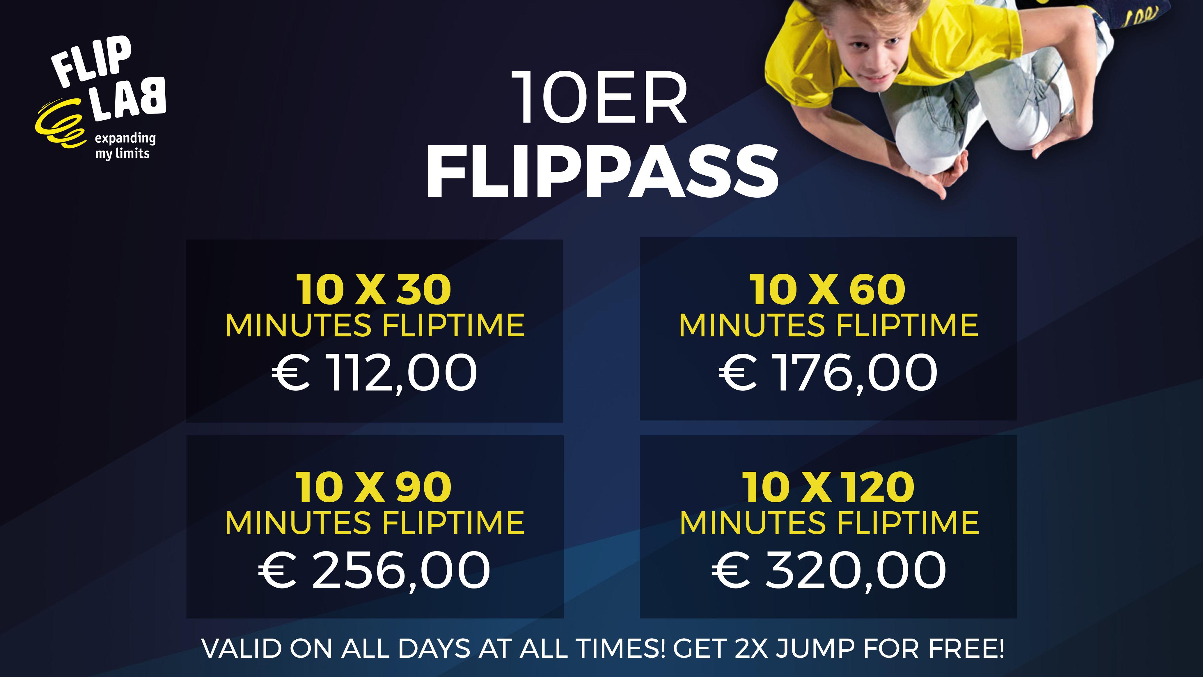 FlipLab Pass 10
